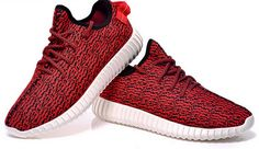 ab8a7dcfe43 Womens Adidas Yeezy Boost 350 Low Kanye West Red Uk Kids Jordans