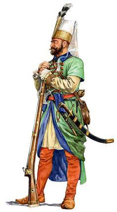 1540-1650 c? Jenízaro otomano by Marek Szyszko
