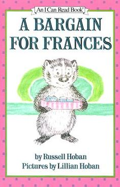 "No backsies! ""A Bargain for Frances""--bedtime on 10/9/12 for #fridayreads"