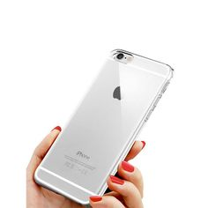 TNI Chrome Color Bumper with Clear Back Cover Case for iPhone 6 Plus & 6s Plus