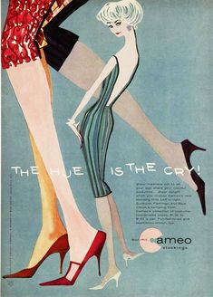 Vintage Poster - Cameo stockings
