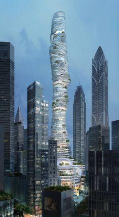 MAD Architects, Bosque Urbano - China