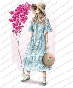 Girly Drawings, Short Sleeve Dresses, Dresses With Sleeves, Shirt Dress, Shirts, Fashion, Moda, Shirtdress, Sleeve Dresses