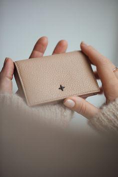 Jeanne wallet in cappuccino beige Creative Design, Fragrance, Beige, Wallet, Dress, Inspiration, Jewelry, Biblical Inspiration, Dresses