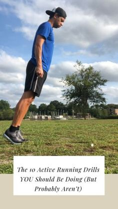 Jan 2020 - Implementing (and actually doing) a warm up routine prior to running is very important to the overall health of a runner. 10 running drills to do before you go for a run Can you get away with not… Running Drills, Running Form, Running Injuries, Running Workouts, Running Tips, Road Running, Trail Running, Rugby Training, Triathlon Training