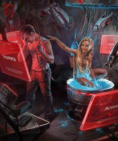 Incredible Digital Art by Russian Concept Artist George Redreev