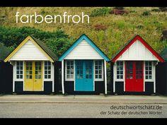 farbenfroh – Deutschwortschatz / der Schatz der deutschen Wörter