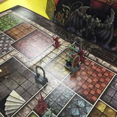 On instagram by rabbible #heroquest #microhobbit (o) http://ift.tt/1Xqt1Be many cowards in this #HeroQuest ! #boardgames