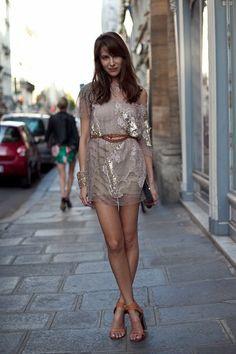Caroline Sieber in Valentino: #style #fashion