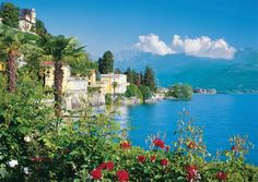 Cheryl & I took a ferry ride on Lake Maggiore from Stressa, Italy, to the island of Isola Bella.