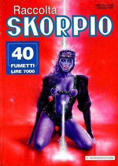 Fumetti EDITORIALE AUREA, Collana SKORPIO RACCOLTA n°269 FEVRIER 1997