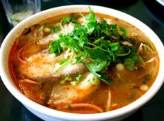 A very delicious Asian catfish soup recipe.