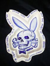 DEATH BUNNY Charles Krafft Porcelain China Fuct Street Art Delft Painting