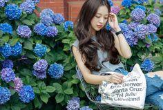Korean Winter, Korean Fashion Winter, Korean Face, Korean Girl, Korean Style, Half Wigs, Ulzzang Girl, Cute Girls, Pop Culture