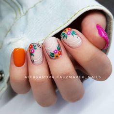 Classy Nails, Stylish Nails, Simple Nails, Gel Nails, Acrylic Nails, Olive Nails, Cute Summer Nails, Bright Summer Nails, Pink Nail Designs