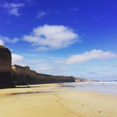 Loving this weather on the great ocean road today and these beautiful cliff faces @visiondirect_au #mysummervision #lovelife #Australia #greatoceanroad #summer #nature #grateful by joy_stride