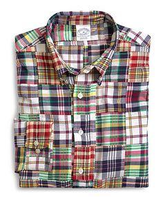 Brooks Brothers Madras Shirts / $39