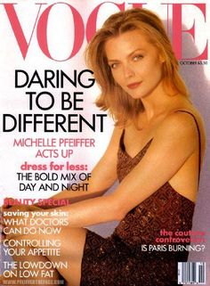 Michelle Pfeiffer for Vogue US October 1991