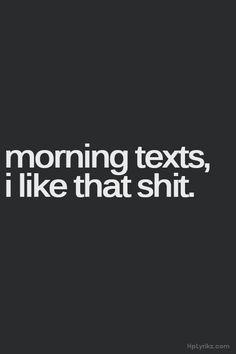 Morning Texts