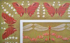 vintage art nouveau embroidery | Antique Embroidery Book French Art Nouveau - Motifs for Embroideries ...