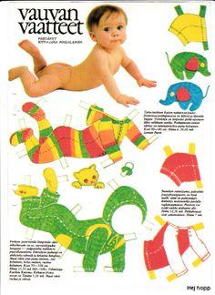 baby t Little Babies, Baby Kids, Paper Child, All Paper, Vintage Paper Dolls, Creative Play, Retro Toys, Paper Toys, Art Pages