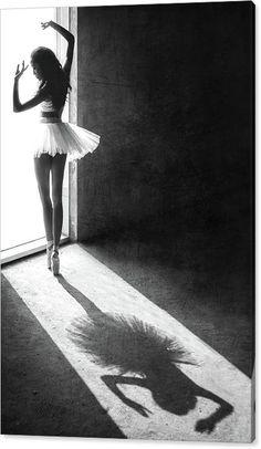 Sebastian Trademark Global Kisworo Shadow Dance Ballerina Canvas Art - 15 x 20 Dance Photography Poses, Shadow Photography, Dance Poses, Fine Art Photography, Portrait Photography, Creative Dance Photography, Ballerina Photography, Beauty Photography, Harey Quinn