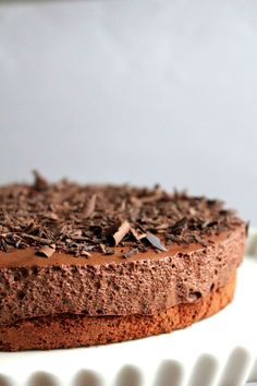 Chocolate Mousse Cake with Espresso and Rum!! | LuLuLu at Home