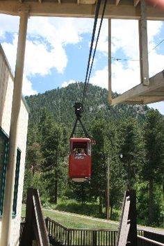 Estes Park Aerial Tramway --- this is a stitch to do, and easy to do with kids. There are lots of chipmunks at the top to enjoy watching!
