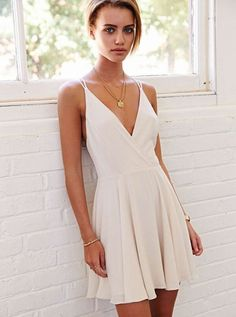simple a-line party dresses, short mini homecoming dresses, fashion, sexy v-neck mini party dreses