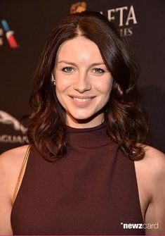 Absolutely stunning. You're so beautiful tonight, Cait #BAFTATea #Outlander January 10, 2015