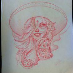 Day of The Dead Girl Arte