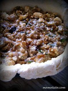 μελιτζανόπιτα Savoury Baking, Savoury Pies, Greek Cooking, Greek Recipes, Tart, Oatmeal, Recipies, Cooking Recipes, Cooking Ideas