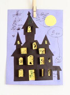 13 Fun, DIY Halloween Crafts for Kids Ook om te bouwen tot Sinterklaashuis of kersthuis