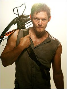 Norman Reedus.  You should watch The Walking Dead to fully understand.