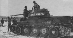 T-34/76, Sergi Kirov written on the turret side.