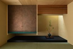 hearth architects has topped this family house in hikone, japan, with a gabled roof whose extended eaves create a sheltered veranda. Washitsu, Tea Room, Hearth, House Painting, Furniture Details, House, Tatami Room, Row House, Home Decor