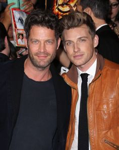 Nate Berkus and Jeremiah Brent. Such a cute couple!