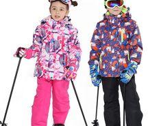 Big SALE Kids Ski Suit Children Brands Windproof Waterproof Warm Girls And Boy  Snow Set Pants Winter Skiing And Snowboarding Jacket Child 03e7d6f19