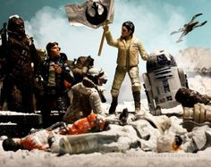 Leia Leading The Rebels