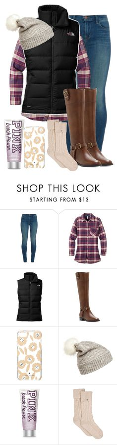 """Winter Style"" by madisoncorell ❤ liked on Polyvore featuring J Brand, Mountain Khakis, The North Face, INC International Concepts, Kate Spade, WithChic and UGG"