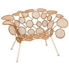 Fernando and Humberto Campana - Racket Chair (Circles) | From a unique collection of antique and modern chairs at http://www.1stdibs.com/furniture/seating/chairs/