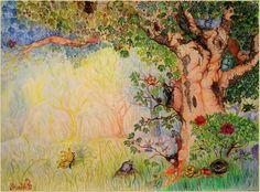 Erdei tisztás My Drawings, Painting, Paintings, Draw, Drawings