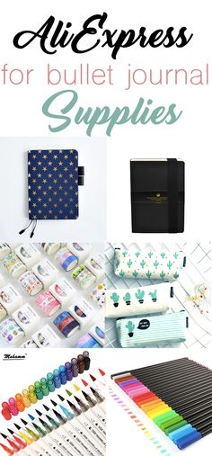 7 Surprising Bullet Journal Supplies to Snag from AliExpress - The Petite Planner If you haven't explored the wonderful world of AliExpress, you are missing out! Snag these quality bullet journal supplies for less when you shop. Bullet Journal 2019, Bullet Journal Hacks, Bullet Journal How To Start A, Bullet Journal Layout, Bullet Journal Inspiration, Journal Ideas, Bullet Journals, Planner Journal, Journal Art