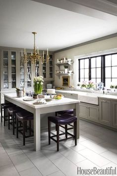 Amazing and Popular Kitchen Design with Remodeling Ideas #kitchenideas #smallkitchenideas #kitchenremodelideas #kitchenmakeovers