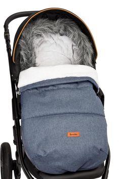 sac pentru cărucior, de iarnă câptușit cu blană artificiala!