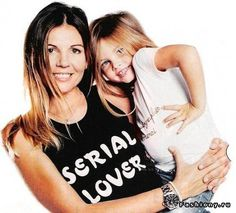 Thylane loubry blondeau with mom – Thylane Loubry Blondeaut