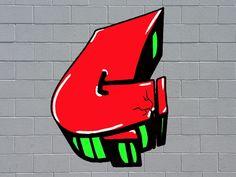 Graffiti Words, Best Graffiti, Graffiti Tagging, Graffiti Drawing, Graffiti Styles, Graffiti Lettering, Graffiti Art, Bubble Letters, 3d Letters