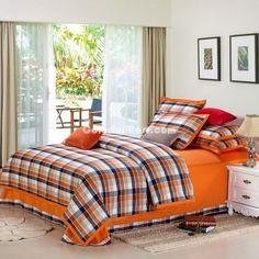 Orange College Dorm Room Bedding Sets [100601300009] - $149.99 : Colorful Mart, All for Enjoyment