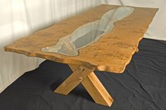 Dining Table 'X-Legs' Pippy Oak & Glass Dining Table Oak Picture Frames, Glass Dining Table, Glass Panels, Solid Oak, Wood Furniture, Home Interior Design, Really Cool Stuff, Contemporary, Minimalist