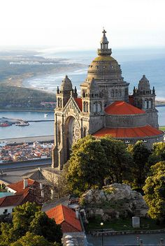 Viana do Castelo, Santa Luzia, Portugal. Medieval castles, cobblestone villages, captivating cities and golden beaches: the Portugal experience can be many things.